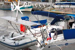 Equipement électrique pour un voilier préparant un grand voyage