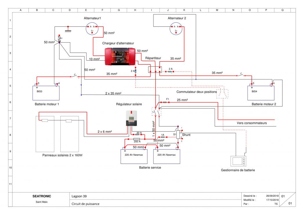 schéma électrique autonomie électrique